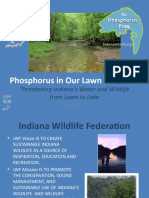Phosphorus in Our Lawn Fertilizer