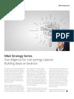 Dtt_m&a Strategy - Synergy Calc
