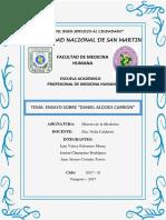 Biografía y Legado de Daniel Alcides Carrión