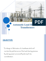 241860696 PPT Automatic Load Sharing of Transformers