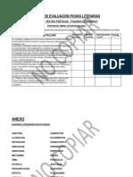 Rúbrica Fichas Literarias (Figuras Literarias)