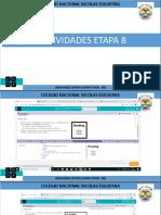 ACTIVIDADES ETAPA 8