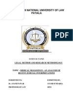 Seminar Legal Research