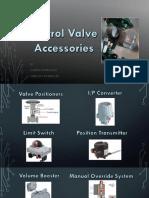 Control Valve Accesories