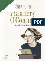 Flannery Oconnor-Dieu Et Les Gallinaces-Cecilia Dutter