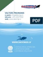 Scuba diving in Latvia