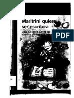 Libro Maritrini Quiere Ser Escritora