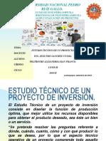 FORMULACION ESTUDIO TECNICO