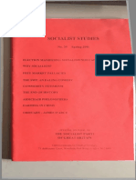 Socialist Studies 24