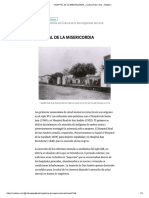 El Hospital de La Misericordia de Lima