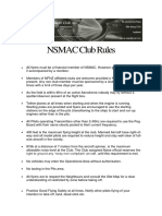 nsmac club rule 2018