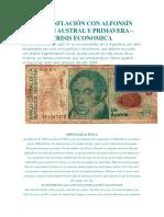 Hiperinflación Con Alfonsín