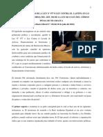 Análisis Del Art. 394 Código Penal de Nicaragua - LA/FT/PA
