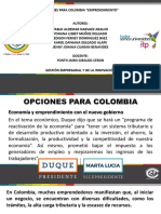 03. Opciones Para Colombia