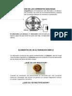 Aplicación de Las Corrientes Inducidas