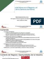 Aleck Santamaria - La Gerencia de Activos en El Negocio y El Negocio de La Gerencia de Activos