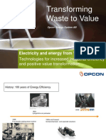 Elgenerering Opcon Energy System