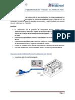 Instructivo de Comunicación Ethernet Del Minimate Pro6