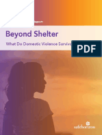 5 Recommendations Better Support Domestic Violence Survivors Safe Horizon Lang Report 2018 FULL