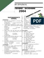 6to Examen Primera Opcion (D) Edition
