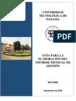 Guia Sobre Informe Mensual de Actividades PDF