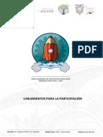 Lineamientos Primera Feria Nacional de Proyectos Escolares