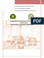 Ultimo Informe Ciencias Ambientales