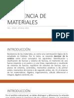 1. Introducción Resistencia de Materiales