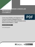 C01-EBRI-11 EBR Nivel Inicial