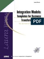 Integration Models - Templates for Business Transformation