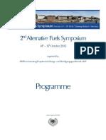 2nd Alternative Fuels Symposium