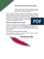 9 Como Configurar Apache Para Crear Un Sitio Web