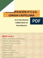 TEMA 1 LA COMUNICACION Alfabeto Silabas Acentos1