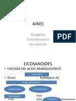 AINES- EICOSANOIDES