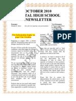 October Newsletter 2010