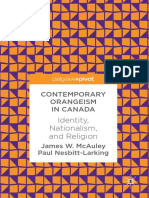 James W. McAuley, Paul Nesbitt-Larking - Contemporary Orangeism in Canada_ Identity, Nationalism, and Religion (2018, Palgrave Macmillan).pdf