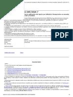 RESOLUCION 539-2018 FACPCE Actualización de Las Normas Para La Aplicación Del Ajuste Por Inflación. Reexpresión en Moneda Homogénea. Aplicación a Partir Del 1-7-2018