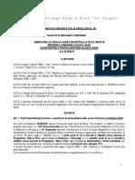 Bando Ammissione CdLM Medicina-Odontoiatria 2018-19