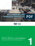 DOT Presentation on Williamsburg Bridge Approach