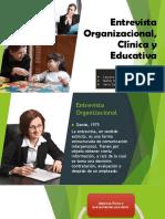 entrevista organizacional, clinica y educativa