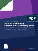 Internationalisierung in Frühen Unternehmensphasen