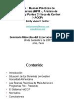BMP y HCCP