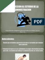 Introduccion Al Estudio de La Administracion