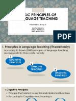 Basic Principles of Language Teaching