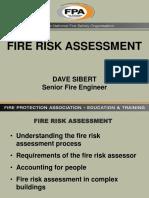 Fire Risk Assesment-Dave Sibert
