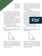Problemas Para Trabajar Teorema Del Seno y Del Coseno