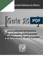 GUIA UNAM BACHILLERATO