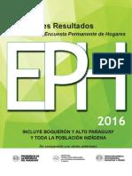 Principales Resultados Eph 2016 (1) (1)