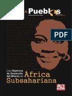 """Cuaderno """"Los objetivos de desarrollo del milenio en África Subsahariana"""""""