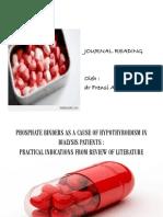 Journal Reading Phosphate